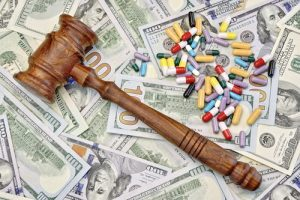 Gavel Drugs Dollar